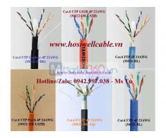 Hosiwell Cable - Cáp mạng LAN Cat.6 (UTP, FTP, Outdoor, F/UTP, LSZH, Patch Cable), xuất xứ Thái Lan