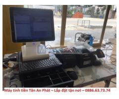 Máy tính tiền thu ngân cho siêu thị mini giá rẻ Đà Nẵng