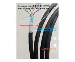 30026-BK-AQ - Cáp mạng kháng nước Cat.6 F/UTP 4P 23AWG, 305m/cuộn, Hosiwell
