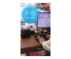 Bán máy tính tiền cho các Tiệm sửa xe tại Hà Giang giá rẻ