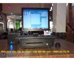 Máy tính tiền cảm ứng giá rẻ quán Karaoke/ Bar Tp.HCM