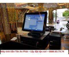 Setup máy tính tiền cảm ứng quán Karaoke/ Bar Tp.HCM