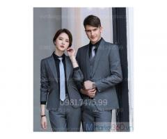 Nhận may áo vest nữ công sở kiểu dáng thời trang, chất liệu bền đẹp