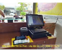 Chuyên lắp máy tính tiền giá rẻ tại Hậu Giang cho nhà hàng
