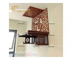 Mẫu bàn thờ phật treo tường đẹp với đa dạng mẫu mã tinh tế