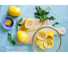 Nước chanh ấm có lợi cho sức khỏe