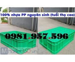 Sóng bít 2T, thùng nhựa 2T, hộp nhựa công nghiệp 2T