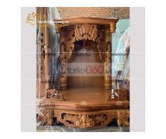 Mẫu bàn thờ ông địa với nhiều kích thước đa dạng đẹp mắt