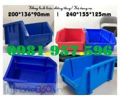 Khay nhựa ghép tầng, khay nhựa xếp tầng, khay linh kiện