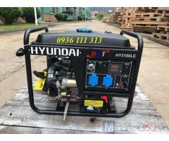 Máy Phát Điện Hyundai DHY6000SE-3_Chạy Dầu 5Kw, 3pha