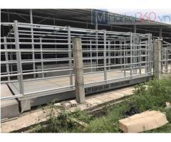 Thiết kế, xây dựng trạm cân điện tử ô tô 40 tấn - Cân điện tử Chi Anh