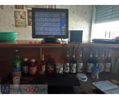 Máy bán hàng tính tiền cho quán trà sữa Bắc Ninh