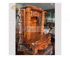 Bàn thờ ông địa bằng gỗ với nhiều mẫu mã đẹp đa dạng