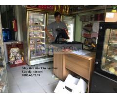 Chuyên máy tính tiền in bill cho tiệm bánh tại Hà Nội giá rẻ