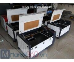 Máy laser 6040, máy laser cắt khắc vải, máy cắt khắc da