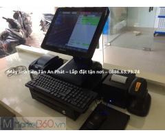 Lắp tận nơi máy tính tiền giá rẻ tại Nghệ An cho shop