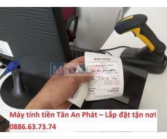 Máy tính tiền shop phụ kiện giá rẻ tại Nghệ An
