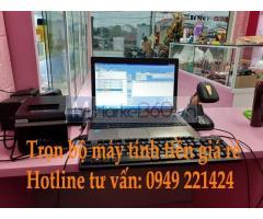 Bán máy tính tiền cho shop mỹ phẩm tại Vĩnh Phúc