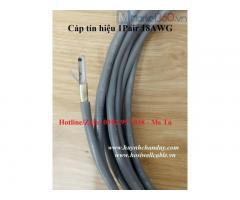 Cáp tín hiệu 18AWG (0.75mmm2 - 1.0mm2), 2 lõi - Hosiwell Cable