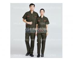Địa chỉ may quần áo công nhân chuyên nghiệp, cam kết chất lượng