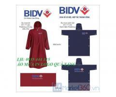 Xưởng in logo lên áo mưa quà tặng,quảng bá ở Đà Nẵng