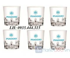 Bộ bình ly thủy tinh in logo giá rẻ ở Đà Nẵng