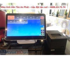 Bán máy tính tiền tại Lâm Đồng cho quán ăn, cafe