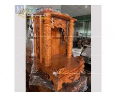 Cách thờ ông địa, thần tài với nhiều mẫu bàn thờ thiết kế đẹp