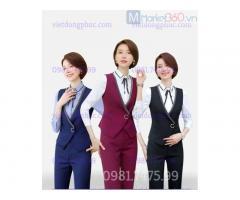 Nhận may áo gile nữ công sở nhiều kiểu dáng, mẫu mã và màu sắc