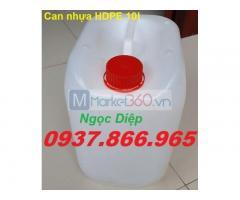Can nhựa đựng hóa chất 10l, can nhựa đựng hóa chất giá rẻ
