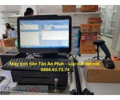 Máy tính tiền giá rẻ cho siêu thị tự chọn tại Hải Phòng