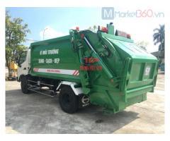 Xe thu gom rác HINO 7 khối - ototruongphuc.vn