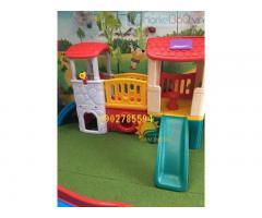 Bàn ghế - Cầu trượt - Nhà banh cho bé rẻ đẹp