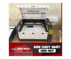 Máy laser6040, máy laser cắt khắc vải, cắt mica giá rẻ