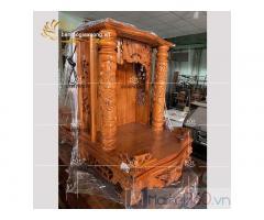 Thay bàn thờ ông địa mới với nhiều mẫu bàn thờ thiết kế đẹp