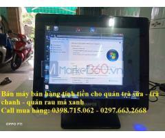 Máy tính tiền giá rẻ cho quán trà sữa tại An Minh