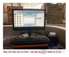 Máy tính tiền quán bún phở ăn sáng Sóc Trăng