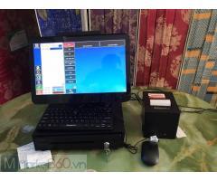 Máy tính tiền quán hải sản Sóc Trăng