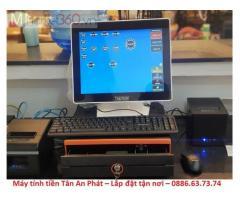 Máy tính tiền quán ăn - quán cơm tại Sóc Trăng