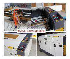 Máy laser 6040 cắt khắc nhập khẩu nguyên chiếc