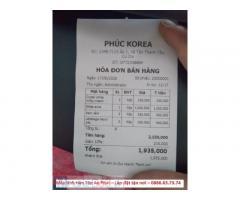 Máy tính tiền cho shop mỹ phẩm tại Lâm Đồng