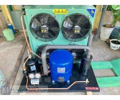 -Nhận lắp đặt cụm máy nén kho lạnh, kho đông Danfoss 10 HP MT125, SM120