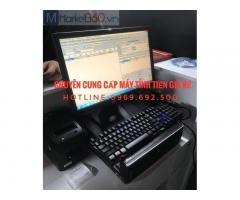 Trọn bộ máy tính tiền giá rẻ cho quán ăn tại Bình Phước