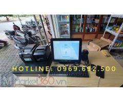 Máy tính tiền cho cửa hàng tự chọn ở Bình Phước giá rẻ