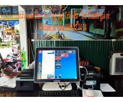 Máy tính tiền cảm ứng cho trà sữa tại Tân Hiệp giá rẻ