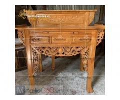 Các mẫu bàn thờ gia tiên đẹp với mẫu thiết kế độc đáo