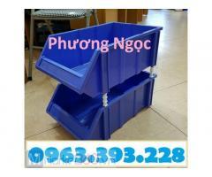Kệ dụng cụ, khay nhựa đựng phụ tùng, khay linh kiện, hộp nhựa vát đầu đựng ốc vít