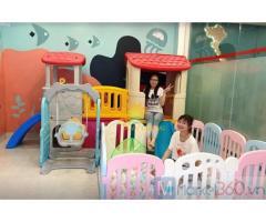Cầu trượt nhựa trẻ em dành cho trường mầm non, công viên, khu vui chơi