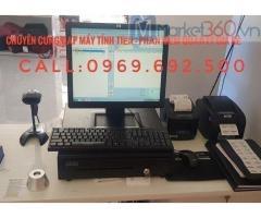 Máy tính tiền giá rẻ cho cửa hàng gia dụng ở Vũng Tàu