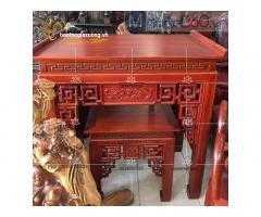 Cách bày trí bàn thờ gia tiên đẹp cùng các mẫu bàn thờ hiện đại